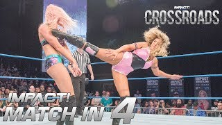 Download Laurel Van Ness vs Allie: Knockouts Championship: Match in 4 | IMPACT Highlights Mar. 8 2018 Video