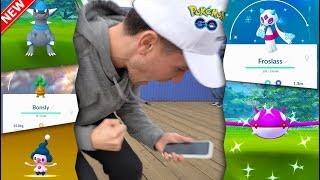 Download A WAVE OF NEW POKÉMON ARE HERE! Froslass, Rampardos, BONSLY & More in Pokémon GO! Video