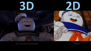 Download The Real Ghostbusters Intro - 3D Remake vs Original Video