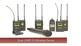 Download Sony UWP-D Wireless Systems Video
