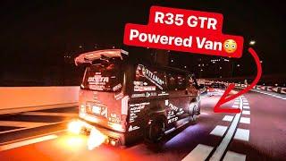 Download JAPANESE YAKUZA GANGSTERS & R35 GTR POWERED HIACE VAN! *TOKYO NIGHTS* Video