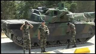 Download Démonstration dynamique du char Leclerc, tank de combat Video