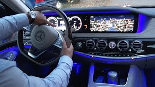 Download 2017 Mercedes S Class - Park Itself? S350 d AMG Long Review Drive Parking Assist Video