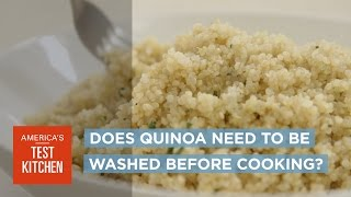 Download Why All Quinoa Should Be Washed Before Cooking Video