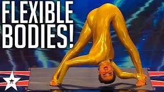 Download TOP 7 Best Contortionists WORLDWIDE on Got Talent Global Video