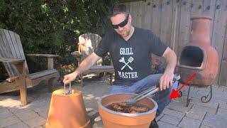 Download DIY Flower Pot Grill & Smoker Video
