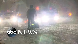 Download November noreaster drops 6 inches of snow, ice on New York City Video