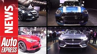Download Best cars at the 2016 LA Motor Show Video