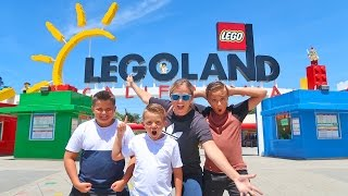 Download LEGOLAND Lego Kingdom Theme Park Tour with Carl and Jinger Family!! Video