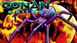Download SPIDER BOSS BATTLE - Conan Exiles (Ep, 6) Video