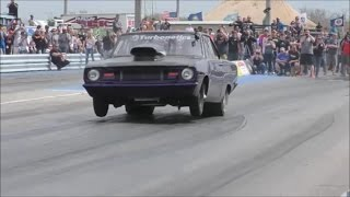 Download Street Outlaws Dominator twin turbo setup is one lethal combination!! Video