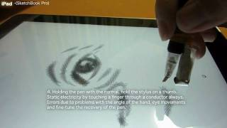 Download iPad Superfine Stylus Pen Painting movie 1 (English) (1/9 e) Video