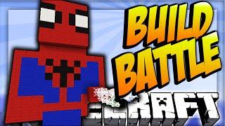 Download SPIDERMAN! - Minecraft TEAM BUILD BATTLE #5 with Vikkstar123 & Woofless Video