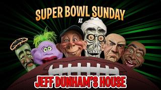 Download Falcons vs. Patriots! Super Bowl Sunday at Jeff Dunham's House |JEFF DUNHAM Video