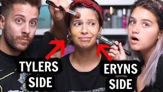 Download MY HUSBAND AND NIECE DO MY MAKEUP...who did better? Video