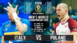 Download Italy vs. Poland | Highlights | Final 6 Mens World Championship 2018 Video