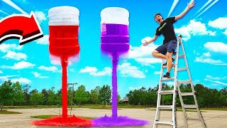 Download MEGA COKE & MENTOS ROCKETS! (20 GALLONS) GONE WRONG! Video