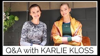 Download Q&A with KARLIE KLOSS | health, fitness, life! Video