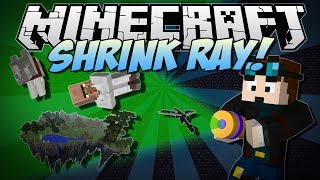 Download Minecraft   SHRINK RAY! (Shrink, Enlarge and Move Entire Worlds!)   Mod Showcase Video