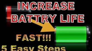 Download 5 Ways to INCREASE BATTERY LIFE (iOS 4) [iPhone | iPad | iPod Touch] Video