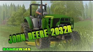 Download Farming simulator 17 | Lawn Tractor With Mower windrower Video