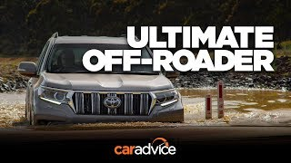 Download 2018 Toyota Prado Kakadu detailed review: 3000kg towing, 700mm wading & fresh design Video