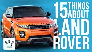 Download 15 Things You Didn't Know About LAND ROVER Video