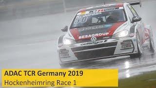 Download ADAC TCR Germany Race 1 Hockenheimring 2019 Re-Live English Video