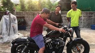 Download วิธีเอารถเข้าบ้าน ฮาเล่ย์ คันละแสนห้า Harley Video