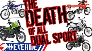 Download The DEATH of ALL DUAL SPORTS! Reasons for no new KLR, DR, & XR & why the WR250r is Discontinued Video