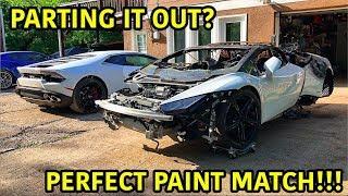 Download Rebuilding A Wrecked Lamborghini Huracan Part 15 Video