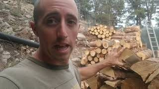 Download Firewood: Why I Won't Buy A Splitter, Won't Split My Wood, Or Use Kindling Video