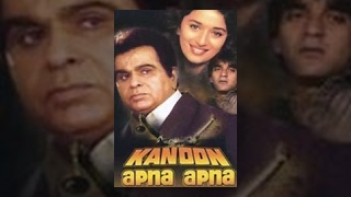 Download Kanoon Apna Apna   Hindi Full Movie   Sanjay Dutt, Madhuri Dixit, Dilip Kumar & Nutan Video