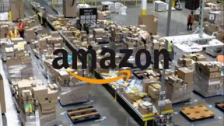 Download Amazon Sorting Facility- Life of a Package Video