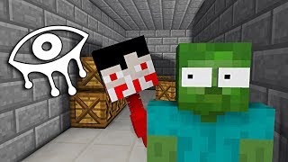 Download Monster School : EYES OF HORROR GAME CHALLENGE - Minecraft Animation Video