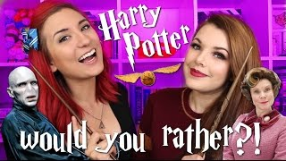 Download Harry Potter WOULD YOU RATHER?! ft. Cherry Wallis Video