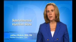 Download Subcutaneous (SC or Subcut) Injection: Sites Video