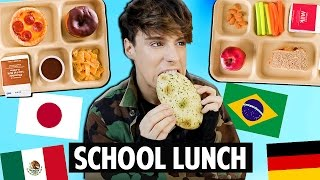 Download Trying SCHOOL LUNCH Around The World Video