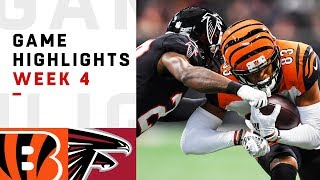 Download Bengals vs. Falcons Week 4 Highlights | NFL 2018 Video