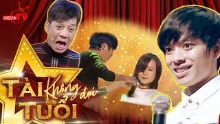 Download ″Con trai Minh Nhí″ vừa hát vừa cắt tóc ″lừa tềnh″ giám khảo Video