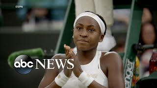 Download 15-year-old tennis star notches 2nd-round win at Wimbledon Video