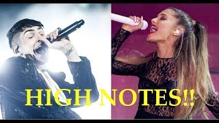 Download Male Singers Hitting Female Singers HIGH NOTES!! Video