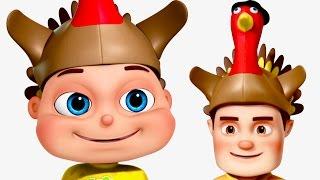 Download Five Little Babies Celebrating Thanksgiving | Thanksgiving Songs | Zool Babies Fun Songs Video