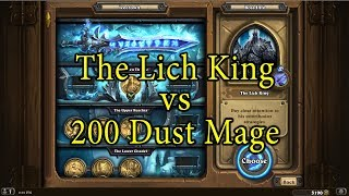 Download Hearthstone: The Lich King with a 200 Dust Mage Deck Video
