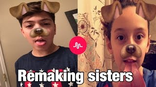 Download REMAKING MY SISTERS CRINGY MUSICALLYS *SO FUNNY* Video