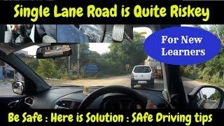 Download Single Lane Highway | Do and Don'ts | Driving and Overtaking | TATA Tigor Video