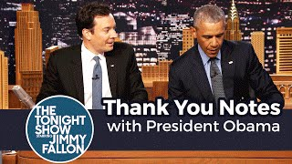 Download Thank You Notes with President Obama Video
