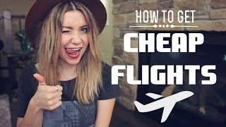 Download HOW TO GET CHEAP FLIGHTS Video