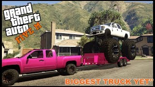 Download GTA 5 ROLEPLAY - BUYING THE BIGGEST TRUCK EVER - EP. 189 - CIV Video