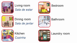 Download Curso de inglês para crianças - Aula 15 - My house Video